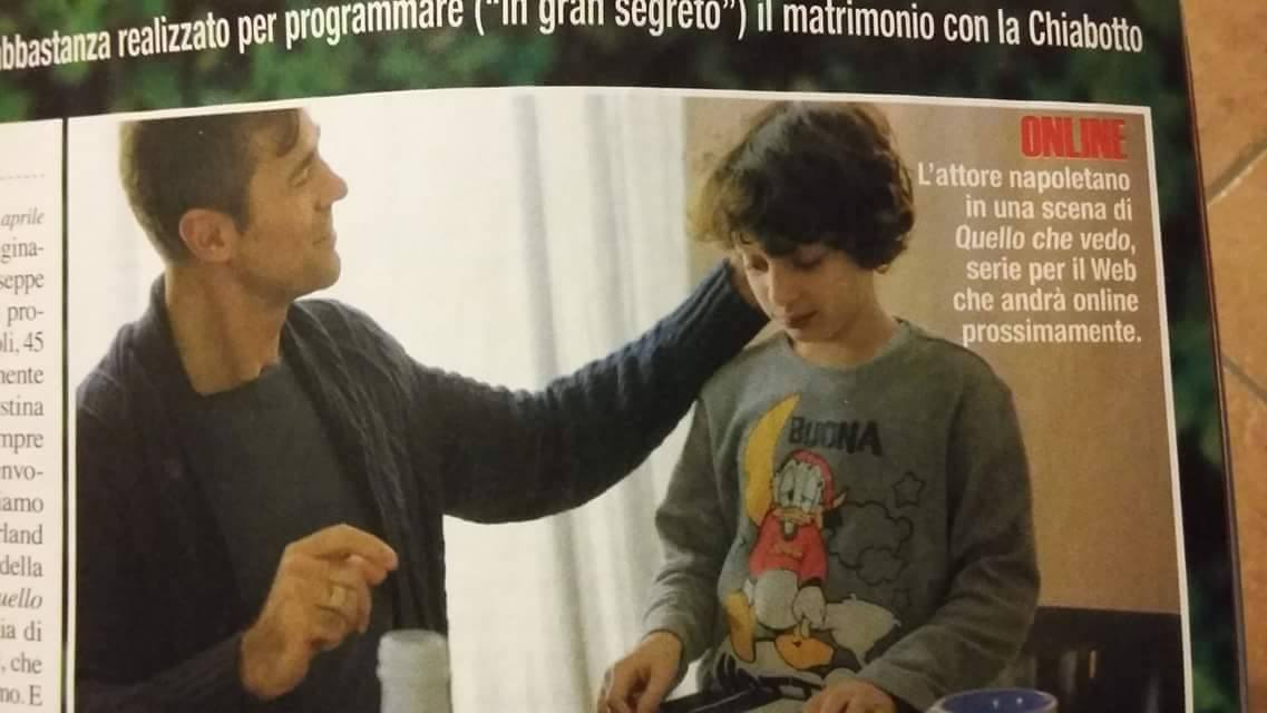 """Set di """"Quello che vedo"""". web-serie - Regia M. Casagrande"""