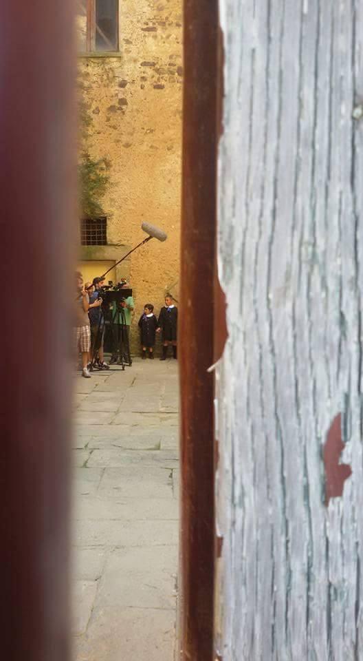 "Set del film ""Veleni"" - Regia N. Baldi"