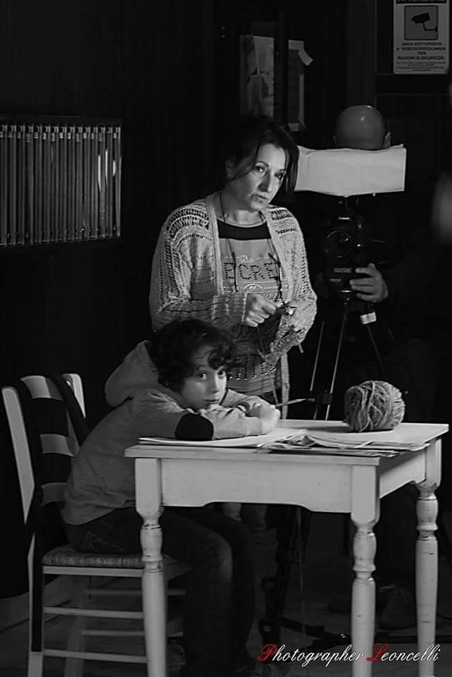 """Set di """"Quello che vedo"""". web-serie - Regia M. Casagrande, con Anna Spagnuolo"""