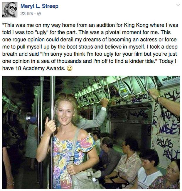 Scopri il Segreto di Meryl Streep