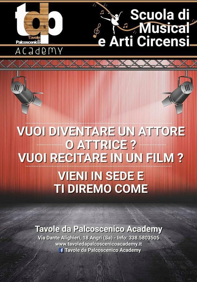 Perché devi iscriverti a Tavole Da Palcoscenico Academy adesso?