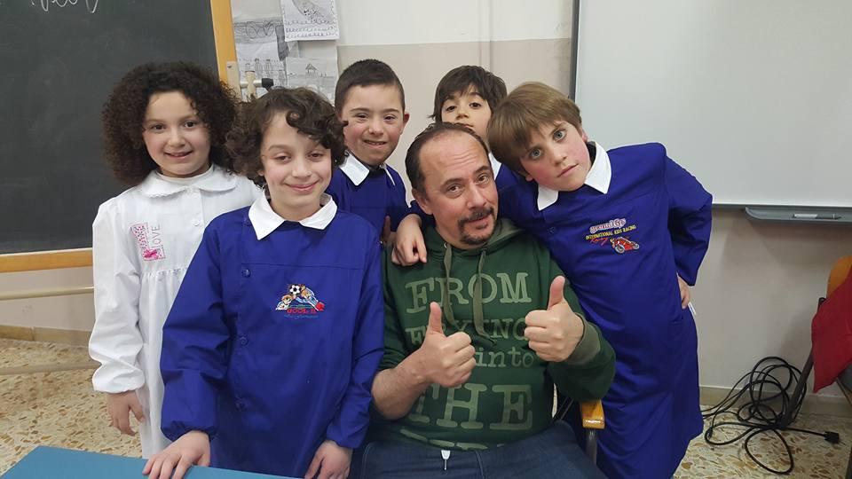 Maurizio Casagrande e Tavole da Palcoscenico Academy